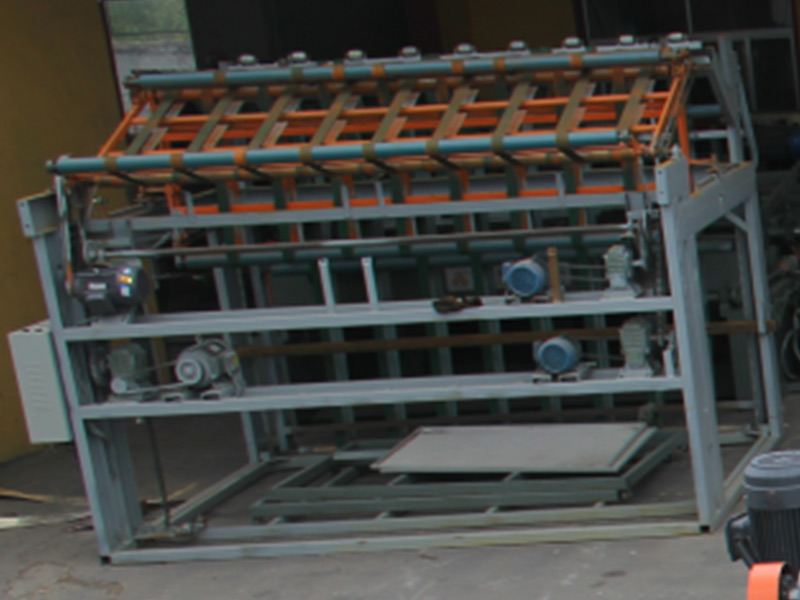 Eight feet folding machine